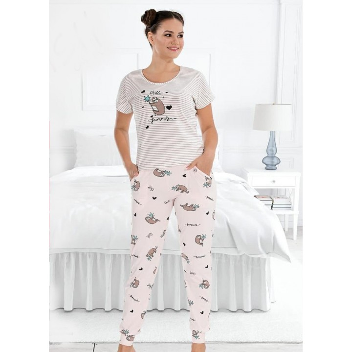 Костюм - пижама для дома и отдыха