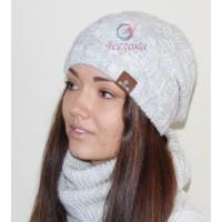 Комплект шапка и хомут LeLa Ruta