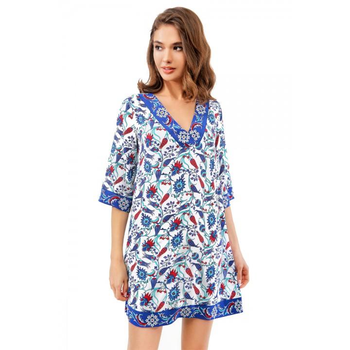платье-туника пляжная 998-703