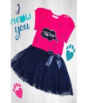 Платье Meow
