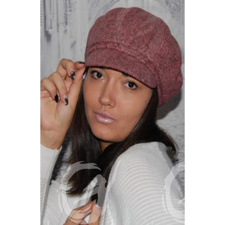 ANUK кепка женская розовая