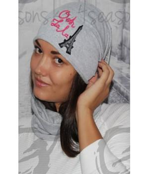 PARIS шапка женская