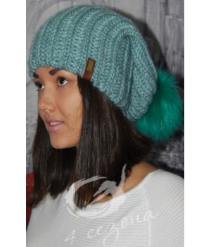 OLIS шапка женская мята
