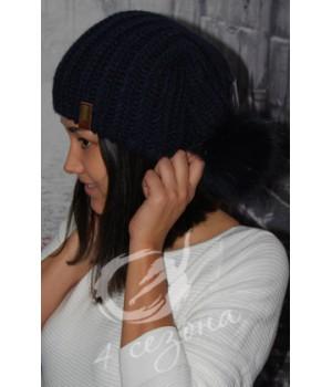 OLIS шапка женская чёрная