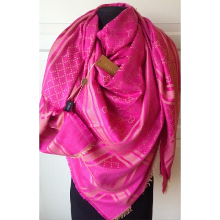 Платок Gucci розовый