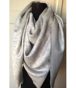 Платок Louis Vuitton серый
