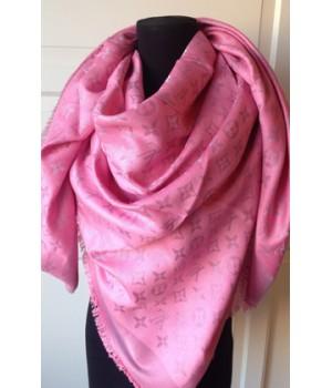 Платок Louis Vuitton розовый
