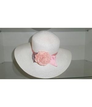 Шляпка с розочкой