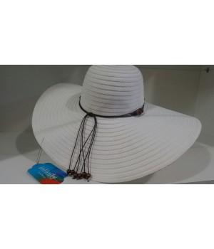 Шляпа широкополая Infinity белая
